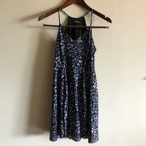 Express Floral Mini Dress